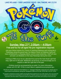 Pokémon Go At the Park @ Lake Roland | Baltimore | Maryland | United States