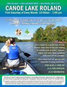Canoe Lake Roland 2017 @ Lake Roland Pier | Baltimore | Maryland | United States
