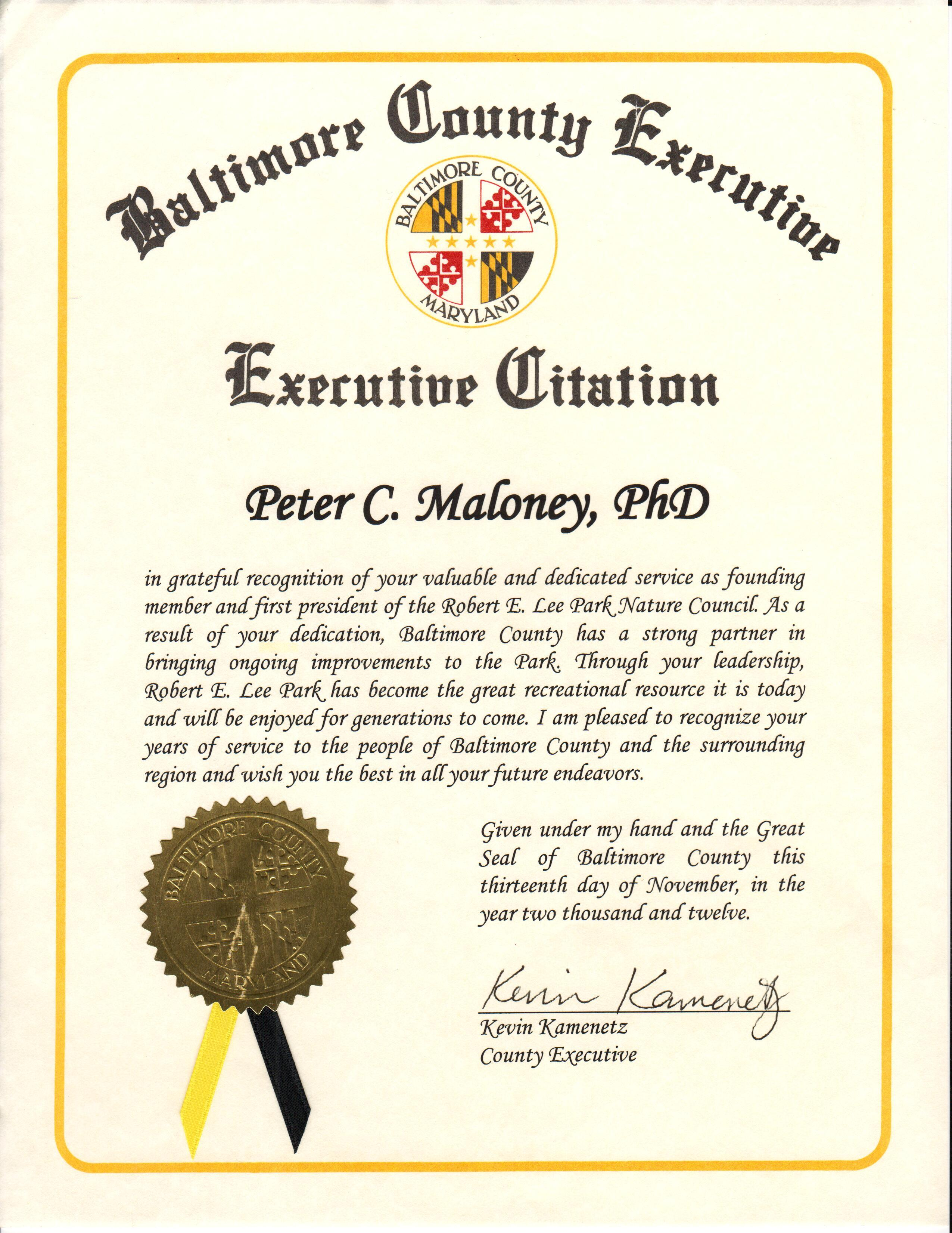 Founding member and president, Peter C. Maloney, PhD